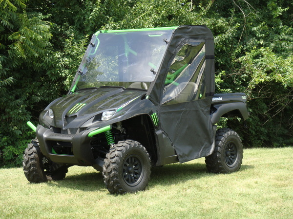 Kawasaki Teryx Full Cab with a Lexan Windshield Roof Doors and a Rear Window & PACIFIC EAGLE UTV ENCLOSURES - Teryx