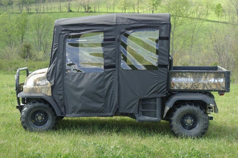 Kubota RTV1140 Full Cab With A Lexan Windshield Roof Doors And Rear Window