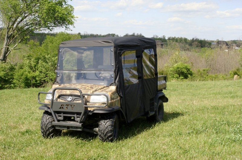 Kubota RTV1140 Full Cab With A Two Piece Lexan Windshield Roof Doors And Rear Window