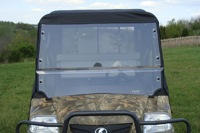 Kubota RTV1140 Summer Cab With A Lexan Windshield Roof And Rear Window